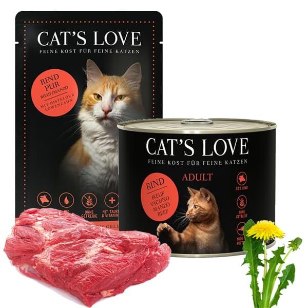 cats love rind katzenfutter kaufen
