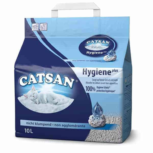 catsan hygiene plus katzenstreu nicht klumpend