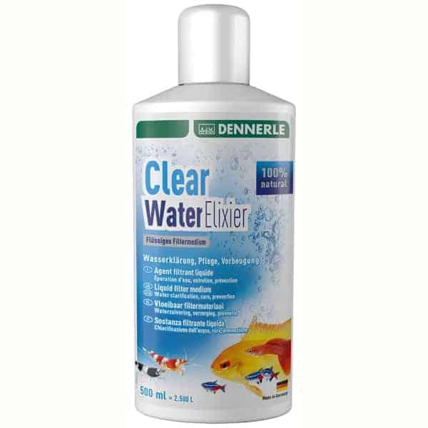 clear water elixier aquarium wasser reiniger
