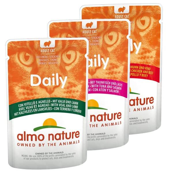 daily almo nature adult katzenfutter nass