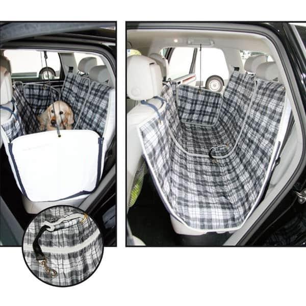decke fuer die auto rueckbank doggypad car inkl adapter