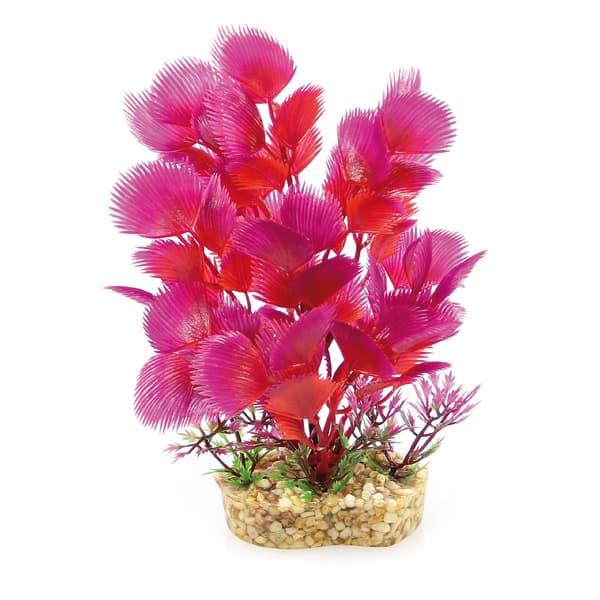 deko aquarium plastikpflanzen exotisch rot