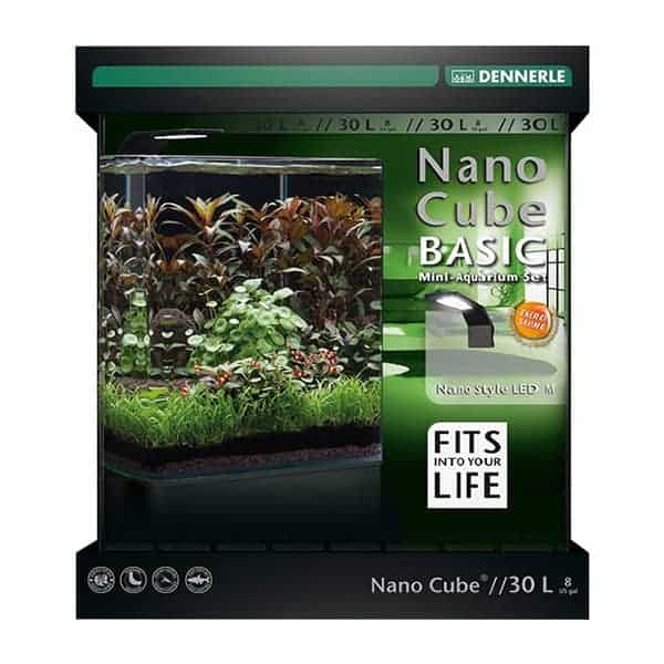 dennerle nano cube 30l basic plus led aquarium