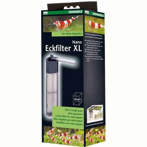 dennerle nano eckfilter XL 40-60l für aquarium