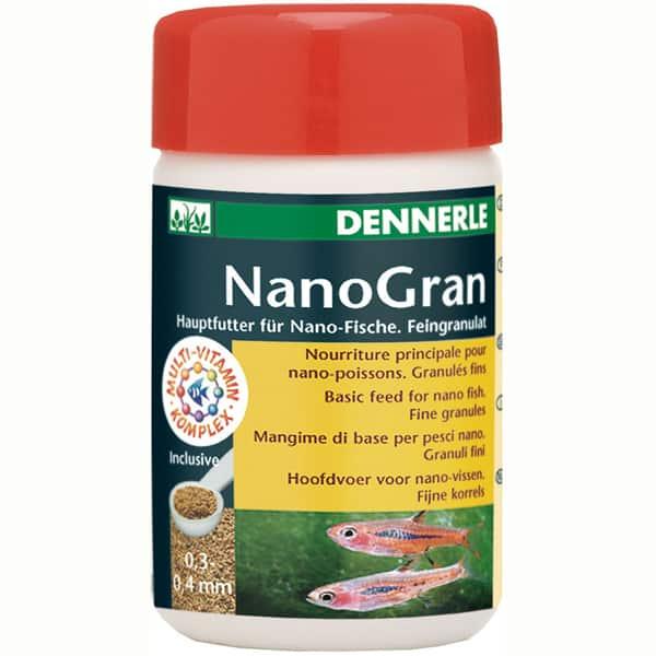 dennerle nano gran fischfutter nanofische
