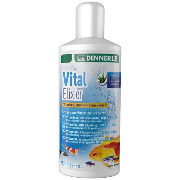 dennerle vital elixier fischfutter vitamine mineralien