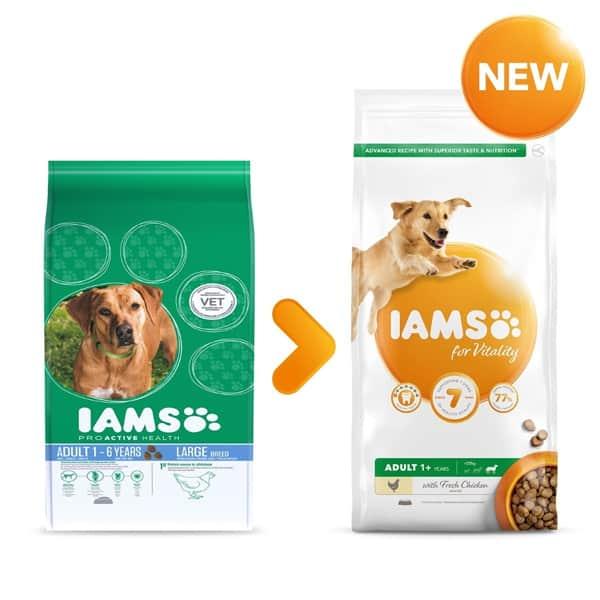 diet hundefutter iams for vitality light