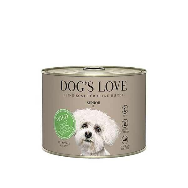 dog's love senior nassfutter