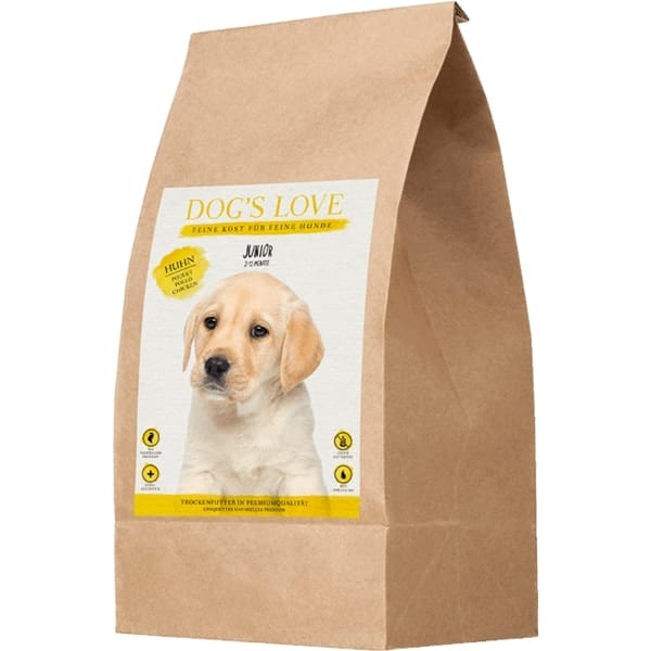 dog's love welpenfutter junior trocken