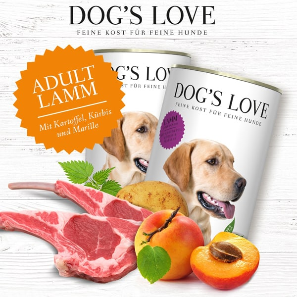 dogs love adult hundefutter 1