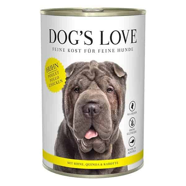 dogs love hundefutter quinoa huhn