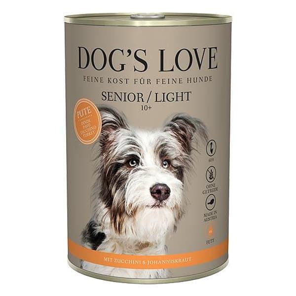 dogs love hundefutter senior