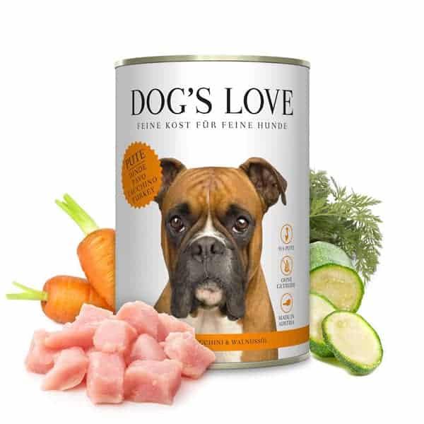 dogs love ohne getreide hundefutter