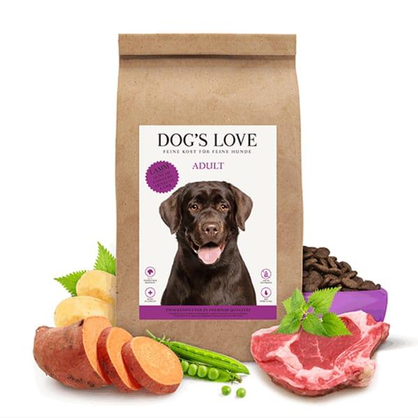dog's love trockenfutter lomm kartoffel