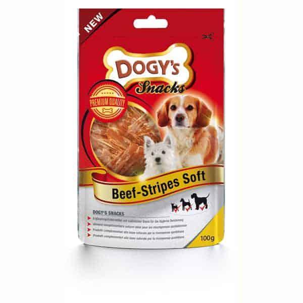 dogys beef stripes soft hundesnacks
