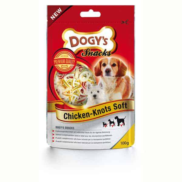 dogys chicken knots soft hundeleckerli