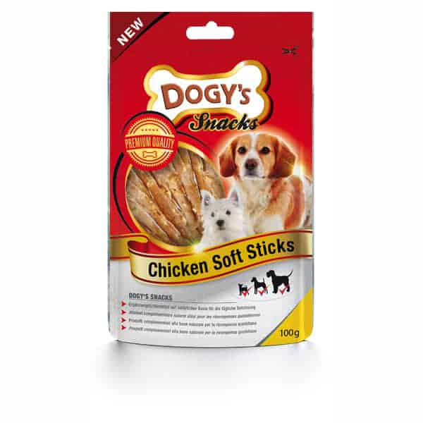 dogys chicken soft sticks hundesnacks