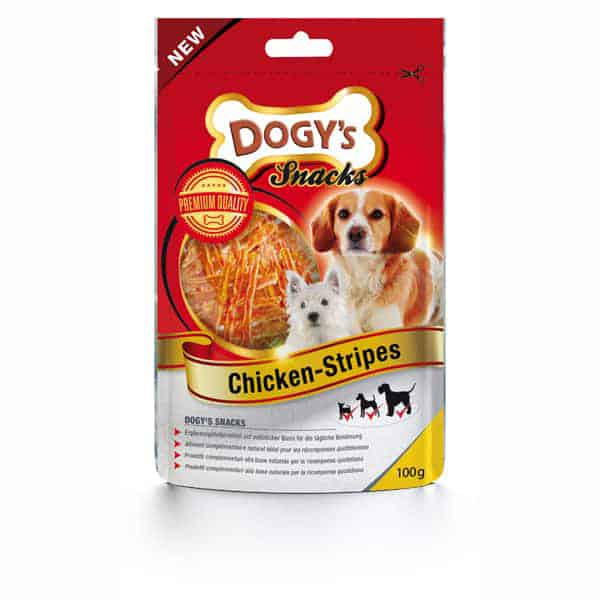 dogys chicken stripes hundesnack