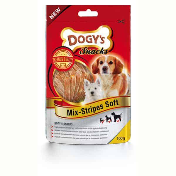 dogys mix stripes soft hundesnack