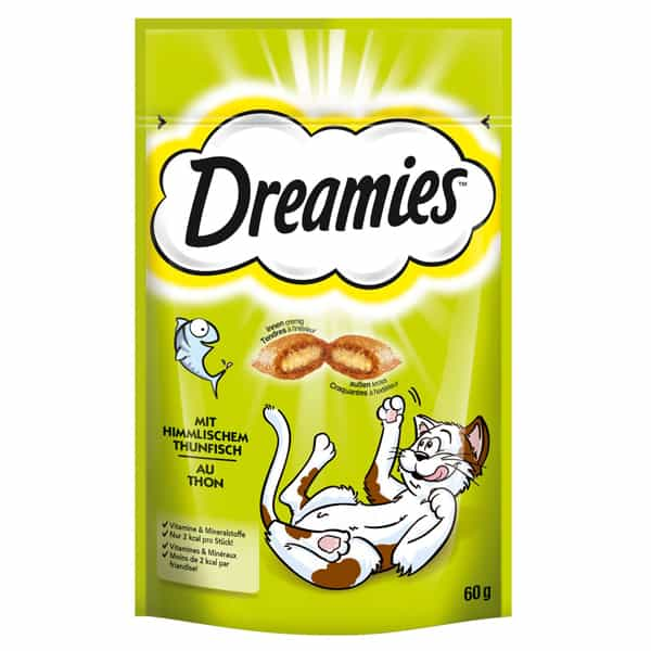 dreamies whiskas himmlischem thunfisch