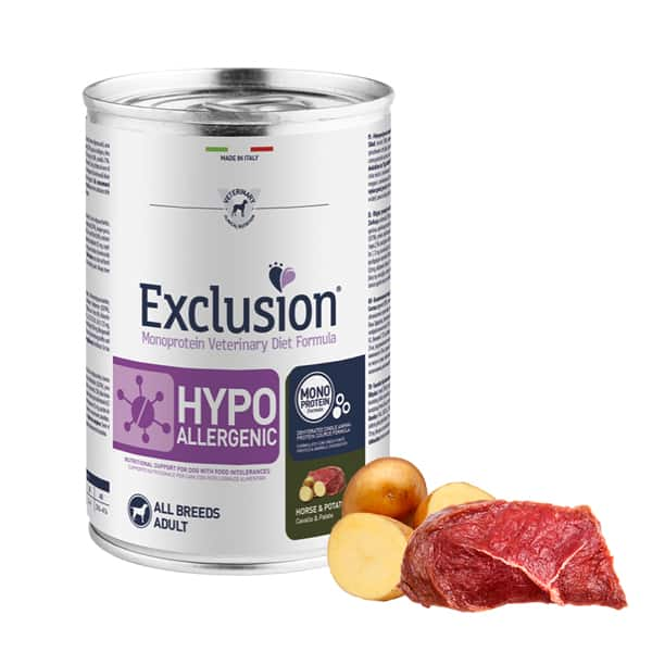 exclusion hypoallergenic pferd kartoffel