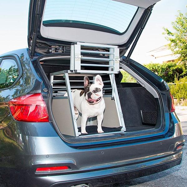 ferplast auto hundebox aluminium