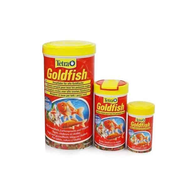 fisch futter tetra goldfish flakes bestellen