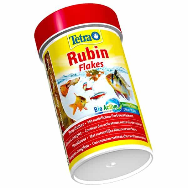 flockenfutter tetra rubin flakes farbverstaerker