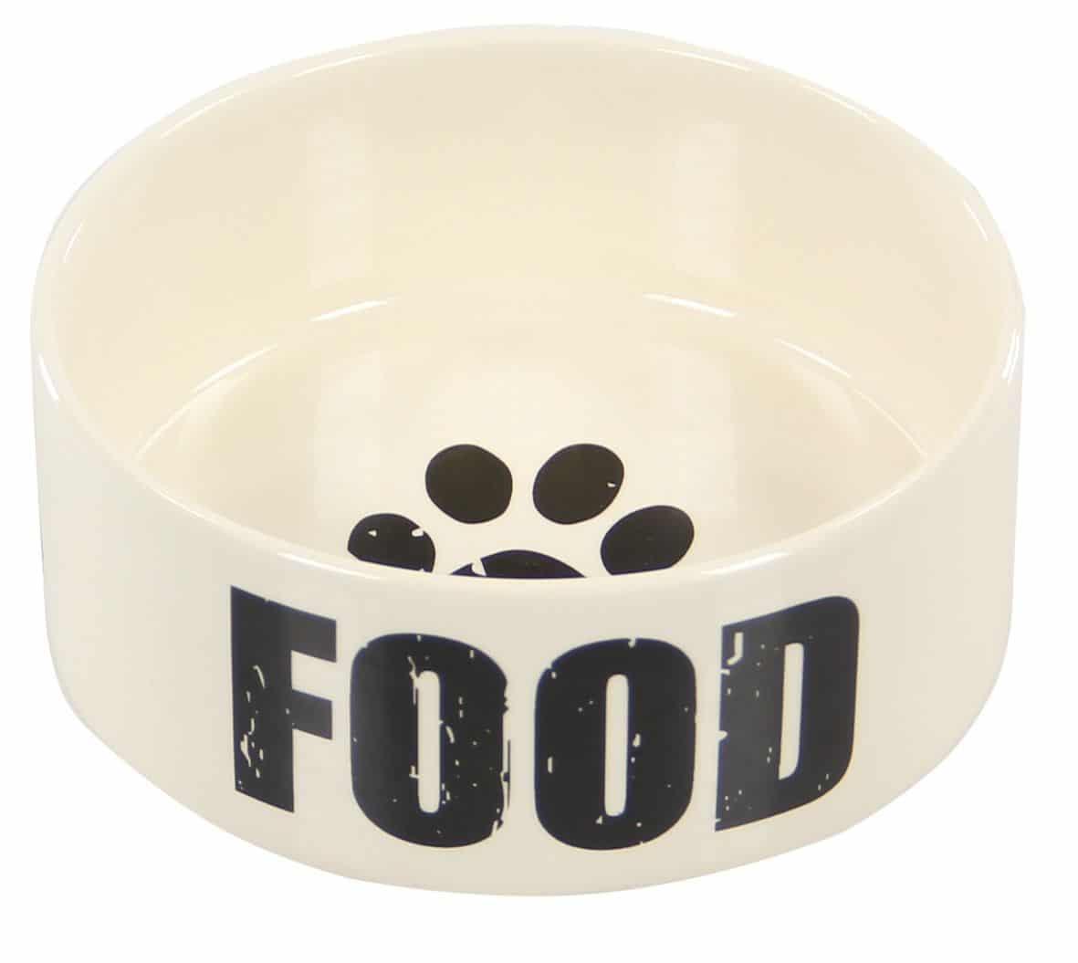 futternapf keramik hunde swisspet aufdruck