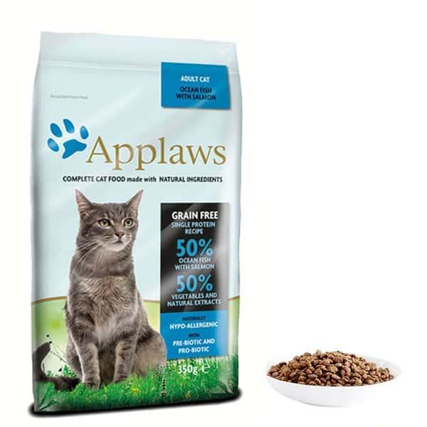 getreidefrei katzenfutter applaws fisch trockenfutter