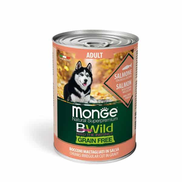 getreidefreies nassfutter erwachsene hunde bwild