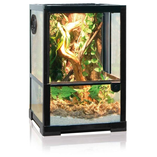 glasterrarium 30x30x45 terrarien glas