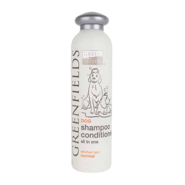 greenfields shampoo conditioner hunde