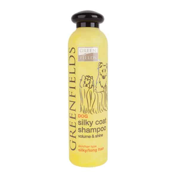 greenfields silky coat shampoo volumen und glanz