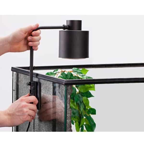 halterung beleuchtung terrarium