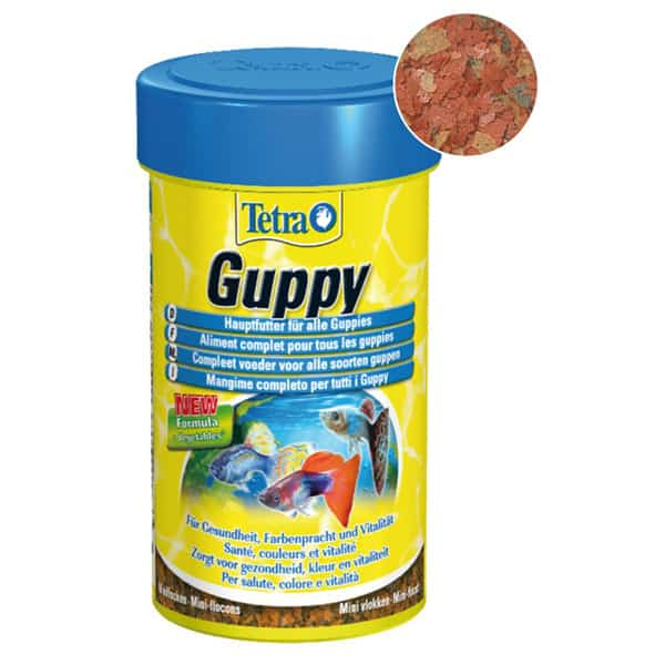 hauptfutter guppy flakes