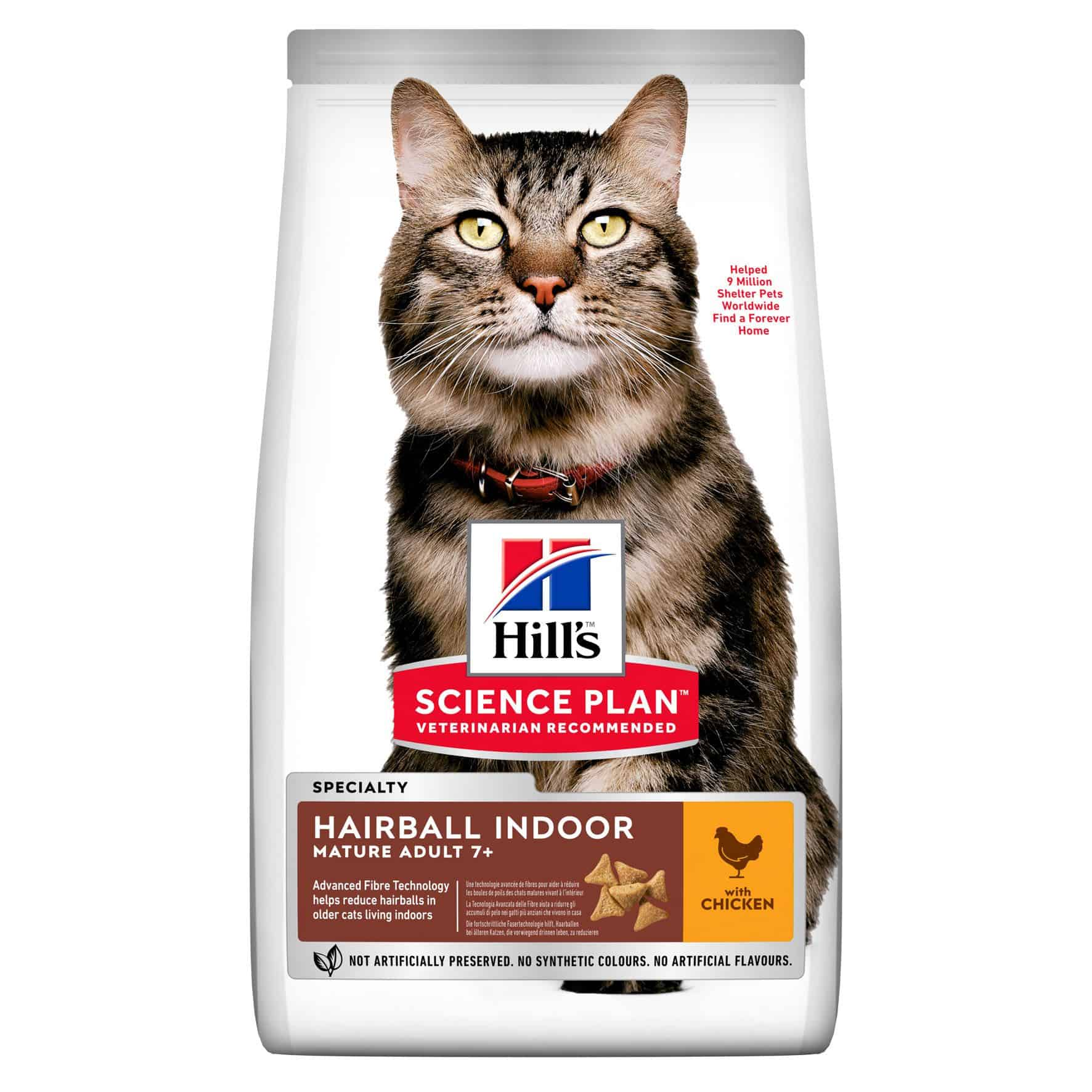 hill s hairball indoor mature 7