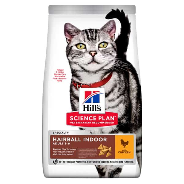 hills hairball indoor cat