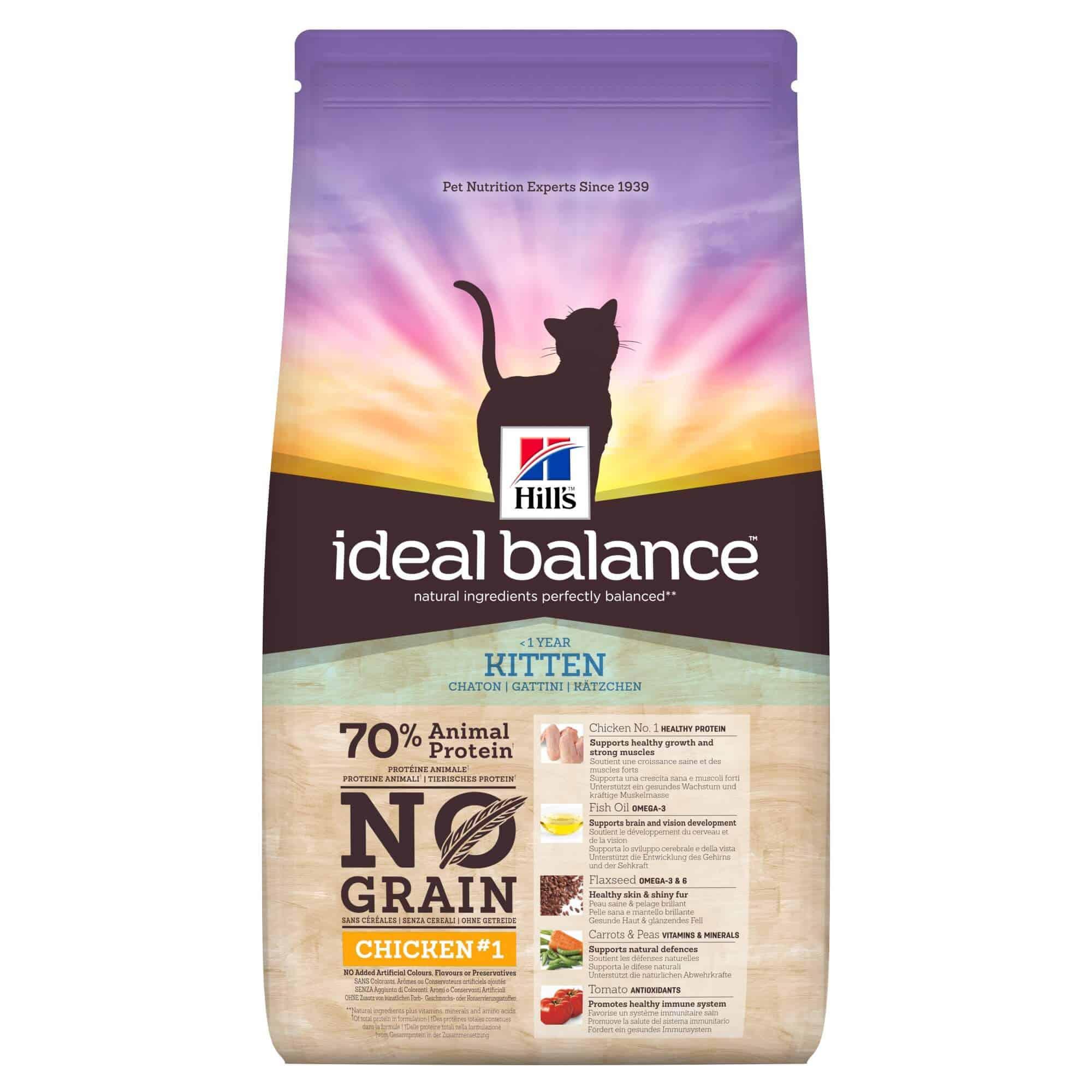 Hill's ideal balnce no grain kitten futter