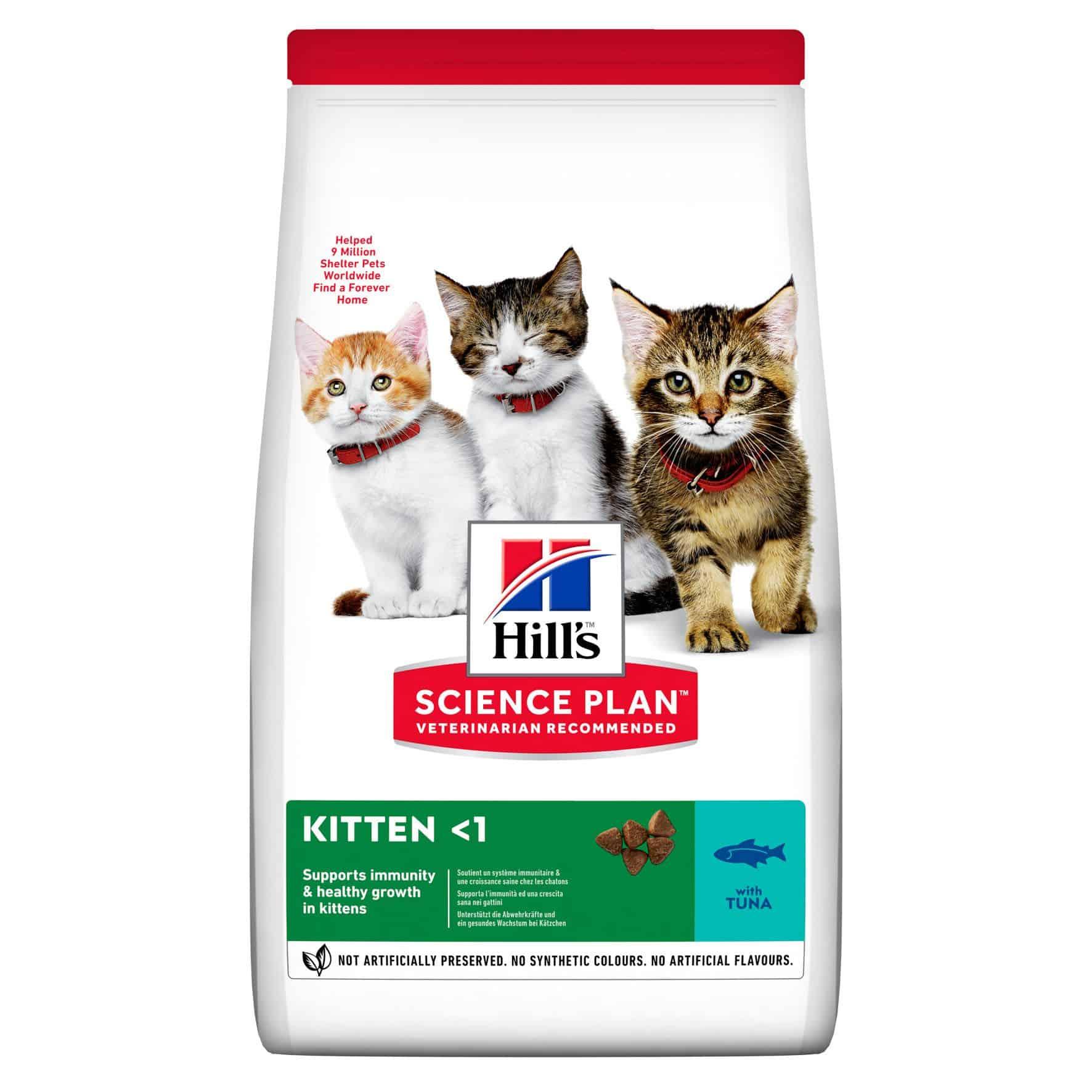 Hill's junge katze trockenfutter