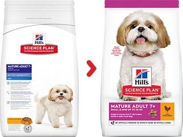 Hill's mature senior mini hundefutter kaufen