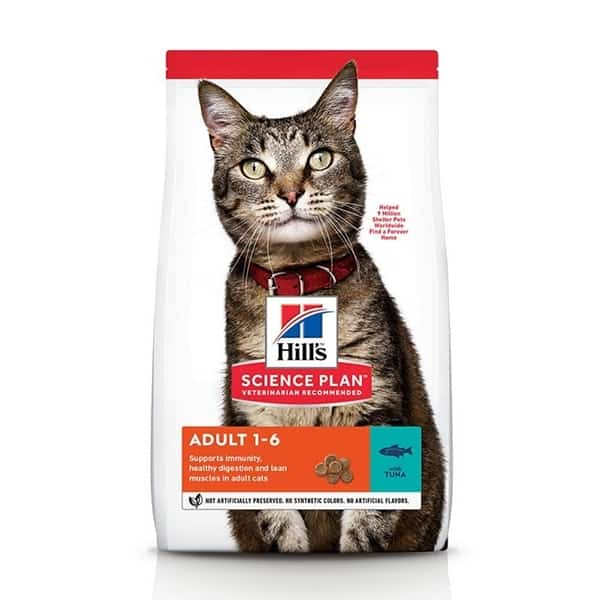 Hill's optimal care erwachsene katzen thunfisch