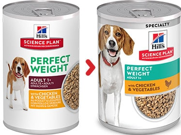Hill's perfect weight Hundefutter adult