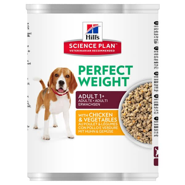 Hill's perfect weight hundefutter nass