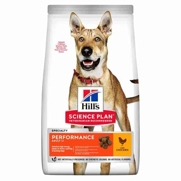 hills performance adult mit huhn