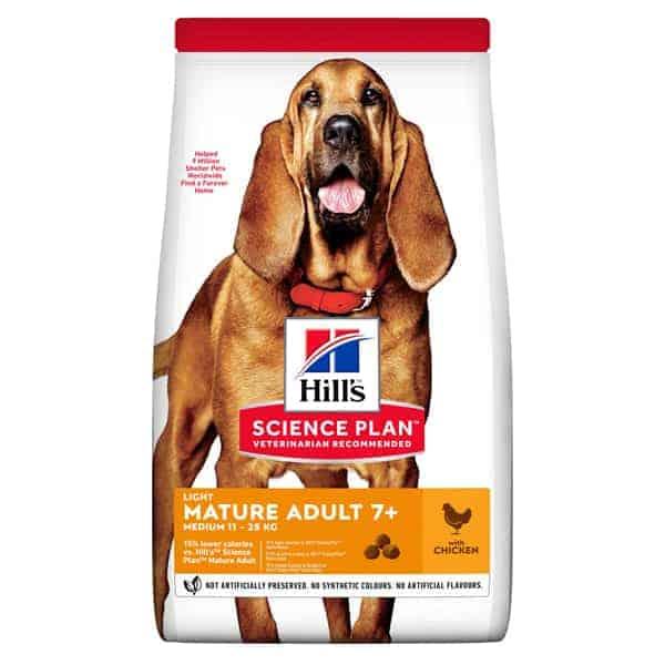 Hill's senior hundefutter