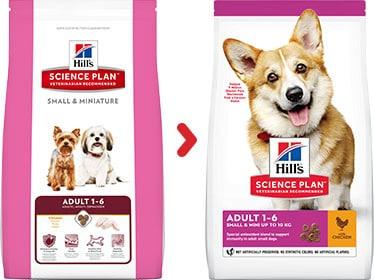 Hill's small miniature hundefutter online kaufen