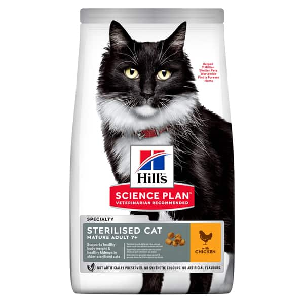 hills sterilised cat katzenfuttet