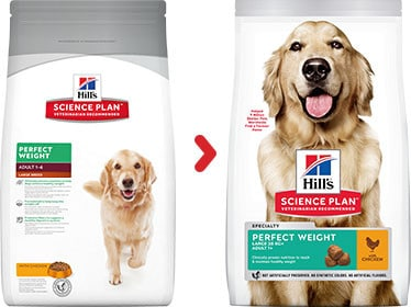 Hill's veterinary perfect weight grosse hunde