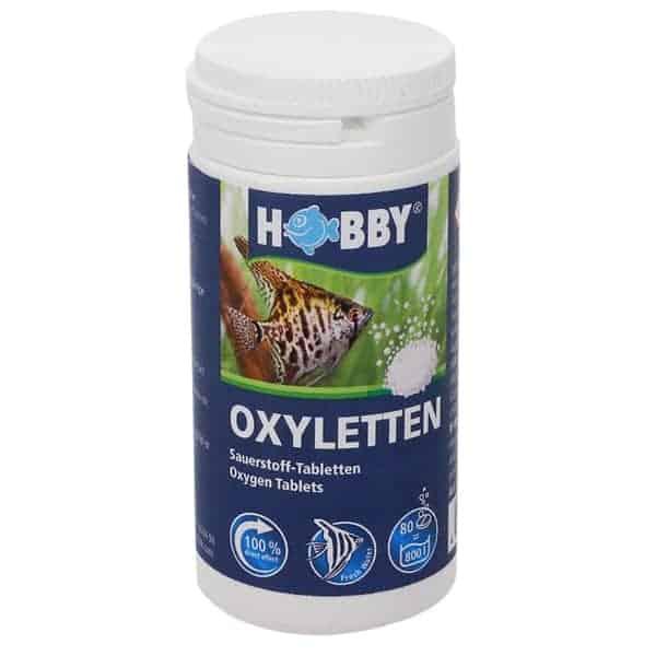 hobby oxyletten sauerstoff tabletten aquarien